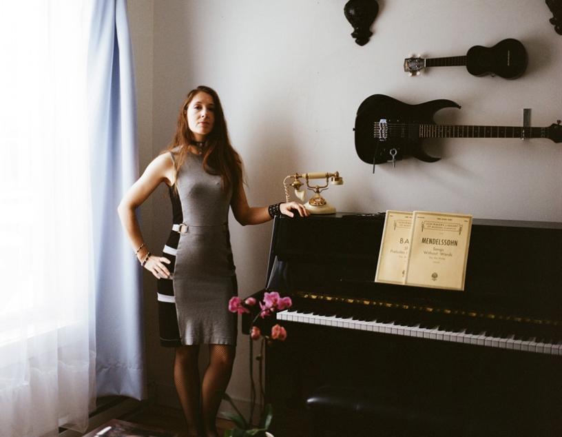 Céline B. La Terreur, Photo Mathieu Caron