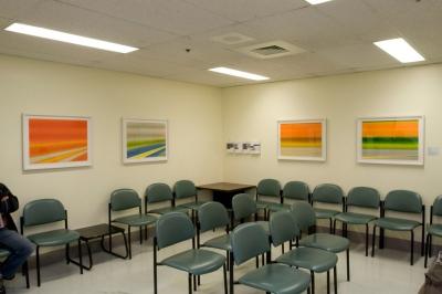 Fondation l'art pour la guérison, Rita Letendre à l'Hôpital Maisonneuve-Rosemont