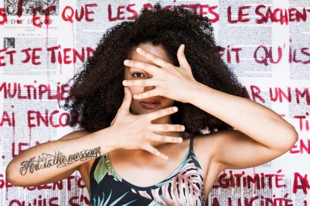 Kiran Ambwani, Jessica Valoise, de la série Portrait de photographe