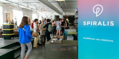 Spiralis — 10 ans d'empathie, le 6 juin 2019 au Loft créatif, événement grand public pour souligner le 10e anniversaire de l'organisation, une occasion de réunir participant.e.s aux formations, collaborateur.trice.s, partenaires et curieux.euses. Photo Thomas Branconier