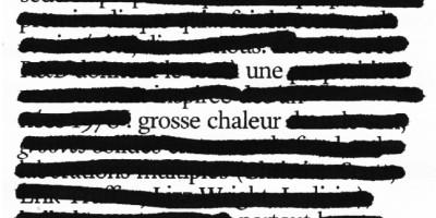 Myriam Tousignant, Pour passer au travers/poésie quotidienne, Jour 51, 5 mai, 2020, journaux et crayon feutre