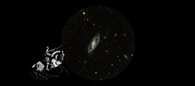 Éric Bolduc, 22 light years is a distance, 2020, collage numérique